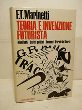 MARINETTI : TEORIA E INVENZIONE FUTURISTA - 1ª Ed 1968