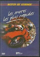 RARE / DVD - MOTOS DE LEGENDE : LES MOTOS LES PLUS RAPIDES