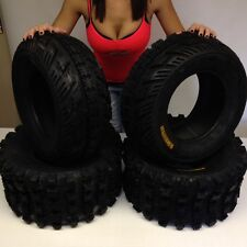 HONDA TRX 450R AMBUSH SPORT ATV TIRES ( SET 4 ) 21X7-10 , 20X10-9