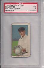 1909 T206 GEORGE MCQUILLAN BAT PSA 3 SWEET CAPORAL 350 460 FACTORY 42 OVERPRINT