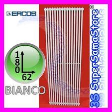 3S TERMOARREDO TUBOLARE RADIATORE ARREDO DESIGN ORION ERCOS 180 x 62 cm - BIANCO