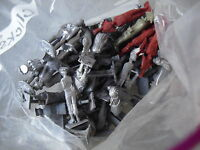 """HUGE Lot of 50+ Vintage Lead Soldier Figurines 2 1/2"""" LOOK"""