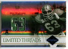 """2004 Leaf Limited MIKE SINGLETARY """"63"""" Threads Jersey Numbers Rare SP #/63"""