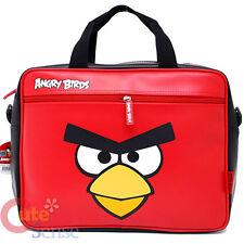 Angry Birds Messenger Bag Fuax Leather Shoulder Briefcase Big Face Rovio