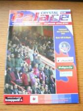 03/12/2002 Crystal Palace v Oldham Athletic [Football League Cup] . No obvious f