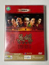 Hero Original Movie Dvd [Extended Edition] Jet Li Zhang Yiyi Donnie Yen Sealed