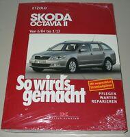 Reparaturanleitung Skoda Octavia II Typ 1Z Benzin + Diesel 6/2004 - 1/2013 Buch!