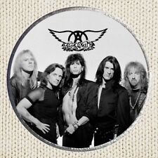 Aerosmith Patch Picture Embroidered Border Rock Band Steven Tyler Joe Perry