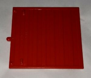 Lego Sliding Train Door 4511 Railroad RED Vintage Type 1 Piece Part RARE HTF EUC