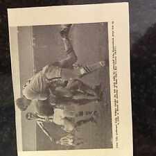 m1c ephemera 1966 football picture Aston villa colin withers v stoke roy vernon