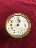 Antique Mini Clock Movement- Howard Thermostat Co. Oswego NY Pat. Jan 1901