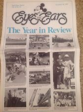 Disney World Eyes and Ears Castmember Year in Review Newsletter Dec. 28, 1989