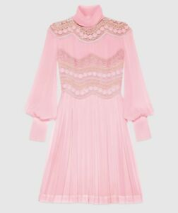 Gucci Silk Georgette Dress- With Tags- RRP$9,550 AUD