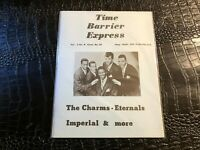 (UNREAD) AUG/SEPT 1976 TIME BARRIER EXPRESS music magazine (F3-BX5)  CHARMS