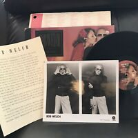 Bob Welch Promo LP French Kiss With Photo and Letter To Radio DJ Fleetwood Mac