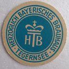 Bierdeckel HERZOGLICH BAYRISCHES BRAUHAUS 🍺 H 70-1