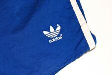 adidas vintage 80s Shorts Gr D6 M BW 54-56 Baumwolle Sporthose Sprinter blau GS1