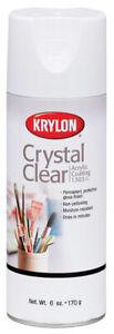 Crystal Clear Acrylic Coating Aerosol Spray 6Oz- Use For Photography, Watercolor
