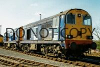 UK DIESEL TRAIN RAILWAY PHOTOGRAPH OF CLASS 20 20314 LOCO. (RM20-459)