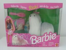 Rare Barbie Doll Pet Dog Ricki Old English Sheepdog Puppy Mint in Box 1992