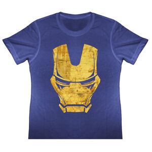 Enfants Iron Man Logo Vieilli T Shirt Tony Stark Avengers Infinity Guerre Fille