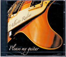 "ALBERTO RADIUS  ""PLEASE MY GUITAR""   CD NUOVO SIGILLATO   RARO"