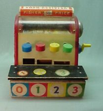 Fisher Price toy cash register #972  works