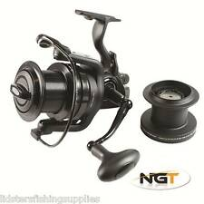 1 x STUNNING Dynamic NGT 10+1BB Big Pit Large Carp Fishing Reels FREE Runner