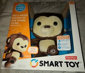 FISHER PRICE--SMART TOY INTERACTIVE MONKEY