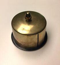 Vintage Brass Desk Top Stamp Dispenser