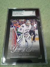 2011-12 Upper Deck Eddie Lack Rookie RC UD Canvas Graded SGC 96 Canucks