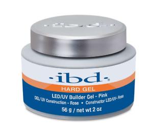 IBD LED/UV Hard Builder Gel Pink 56g/2oz **NEW VERSION**