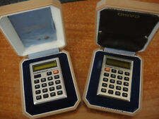 CASIO vintage calcolatrice anni 70 m800 e m810
