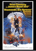 146633 Diamonds Are Forever Sean Connery Wall Print Poster Plakat