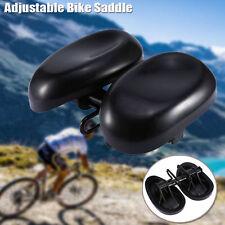 Unisex Bicycle Bike Seat Comfortable Ergonomic Soft Wide Large Bum Saddle AU New