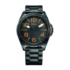 Hugo Boss Orange 1513001 Men's Stainless Steel Case Black Dial Quartz Watch