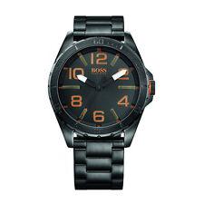 Reloj de Cuarzo Hugo Boss Orange Hombre Dial Negro de Acero Inoxidable 1513001