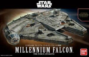 Bandai 1/144 Model Kit Star Wars Millennium Falcon YT-1300 The Force Awakens