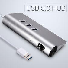 3 Porte USB 3.0 Hub Con USB 3.0 LAN RJ45 Gigabit Ethernet Lan Adattatore 1000M