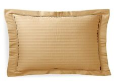 Ralph Lauren Reed Polished Bronze Quilted Standard Pillow Sham