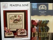 New ListingPeaceful Dove Sampler Counted Cross Stitch Kit