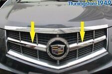 CHROME GRILLE GRILL INSERTS OVERLAY TRIM For Cadillac SRX 2010-2012