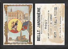 1880s LA LANGUEDOC BELLE JARDINIERE FRENCH VICTORIAN TRADE CARD