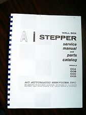 AMI STEPPER Jukebox manual CCA,CCB,CCC,CCD