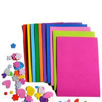 10Pcs/Pack EVA Foam Sheets Handmade Paper Fun Kids Craft G-3