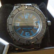 reloj nuevo para hombre echo en suiza de quarzo crystal de zafiro new mens watch