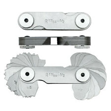 32 Pc 1764 12 Radius Gage Set Steel Precision Gauge Set Machinist Tool