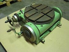 """Walter RTS-400-G, 15.75"""" Diameter, 90 Degree Tilting, Precision Rotary Table W-3"""