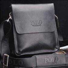 Men Shoulder Messenger Bag Male Leather Crossbody Bags Man POLO Travel Briefcase