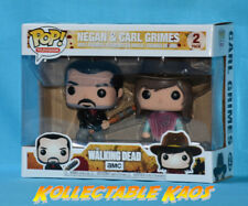 The Walking Dead - Negan & Carl Pop! Vinyl 2-Pack (RS)